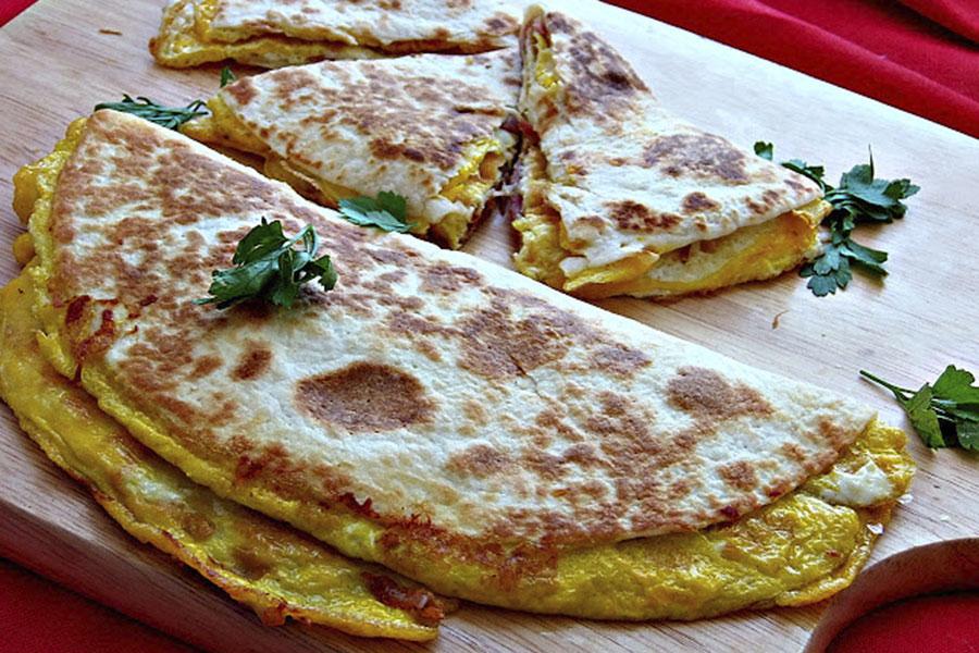 tortilja s jajima