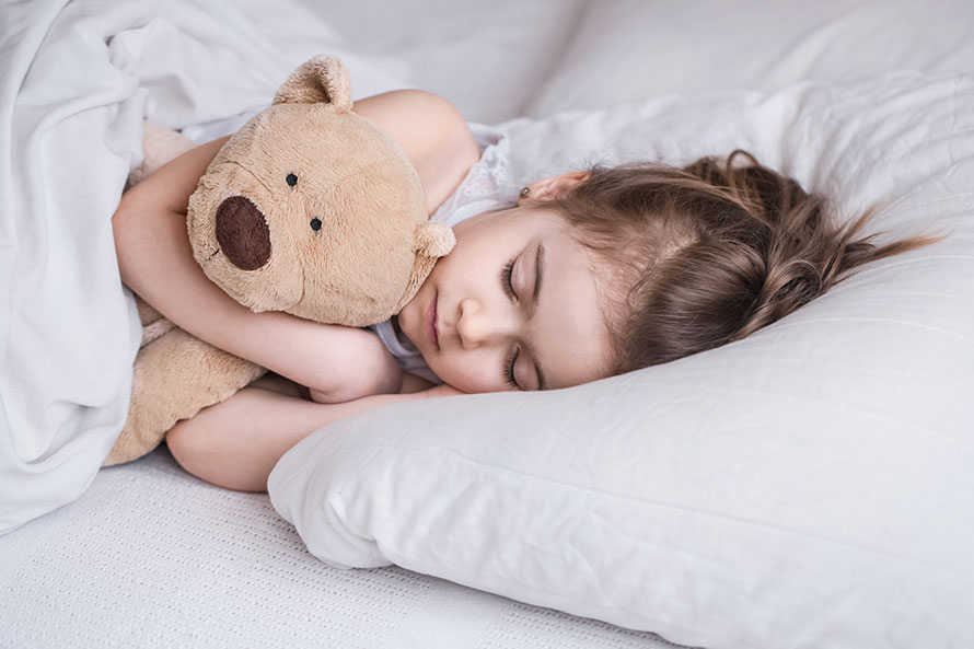 spavanje s plišancem