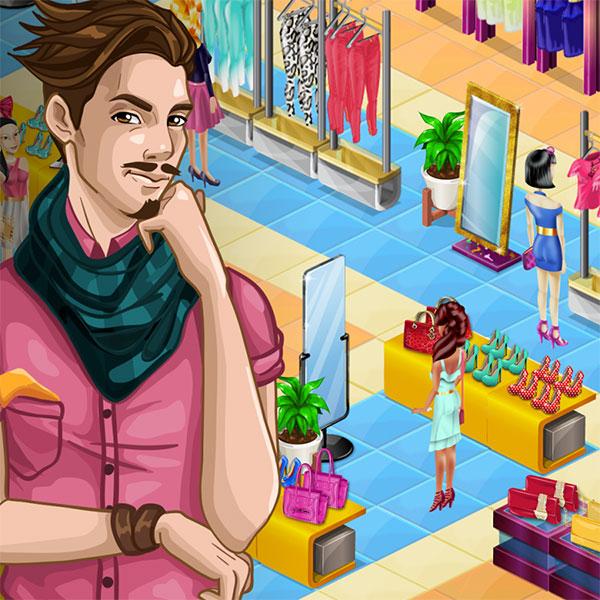 Fashion City 2 - Nanobit igre